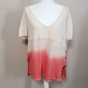Free people ombre sun dial tee